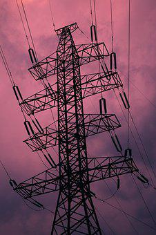 High Voltage, Electricity, Energy, Voltage, Power Lines