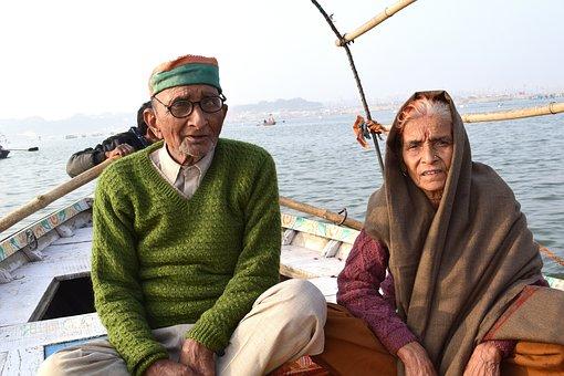 Old, Couple, Elderly, People, Love, Retirement