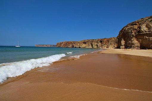 Portugal, Beautiful Beach, Southwest Coast, Rock