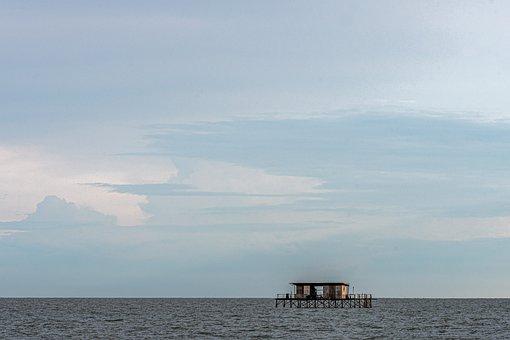 Sky, Seascape, Pacific, Sea, Blue, Travel, Destination