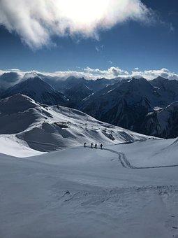 Snow, Zillertal, Winter, Backcountry Skiiing
