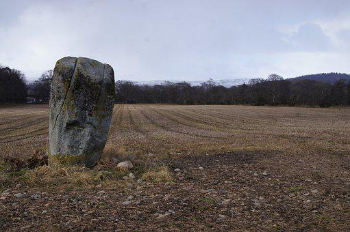 Standing Stone, Celtic Stone, Pictish Stone, Celtic