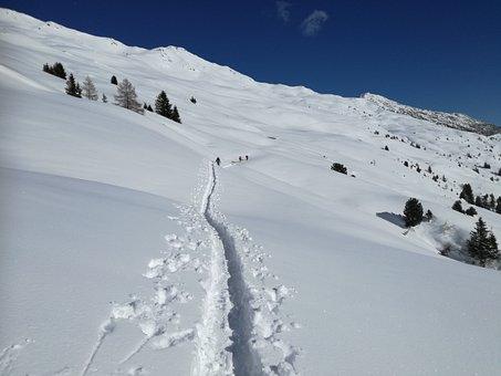 Winter, Backcountry Skiiing, Split Board Tour, Summit
