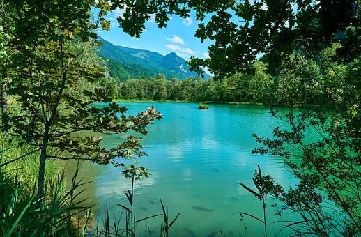 Lake, Pond, Mountains, Landscape, Tyrol, Water, Trees