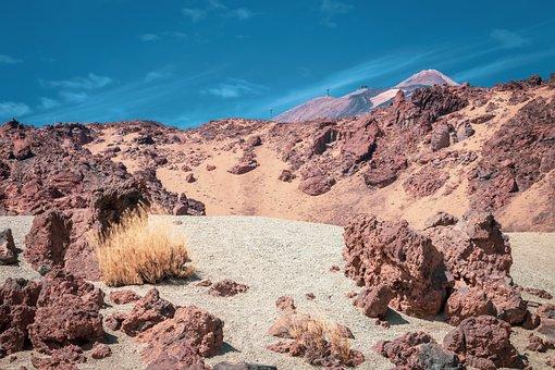 Volcanic Landscape, Tenerife, Canary Islands, Nature