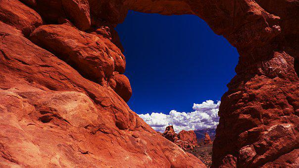 Arches National Park, Red Rock, Sandstone, Arch