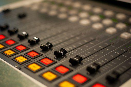 Radio, Console, Studio, Audio, Sound, Record