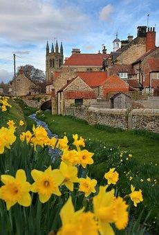 Helmsley, Yorkshire, Uk, England, English, British