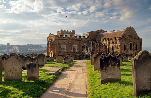 Whitby, Church, Historic, Old, Architecture, England