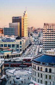 City, Cityscape, Architecture, Urban, Night, Europe