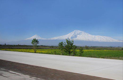 Armenia, Sky, Nature, Landscape, Mountains, Clouds