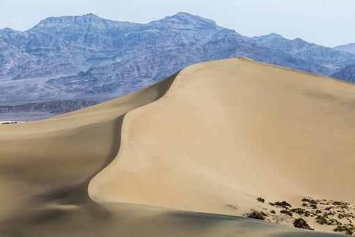 Sand Dune, Desert, Sand, Sahara, Dry, Dunes, Landscape