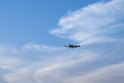 Plane, Sky, Airplane, Jet, Dark, Fly, Flying, Clouds