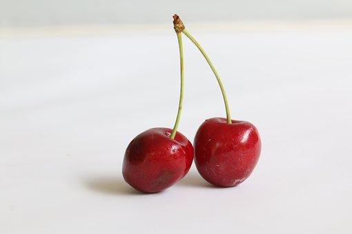 Cherries, Fruit, Red, Delicious, Dessert, Summer