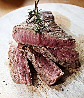 Steak, Fillet Steak, Beef, Meat, Grill, Barbecue, Eat