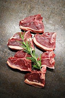 Lamb, Lamb Meat, Meat, Rosemary, Lamb Chop