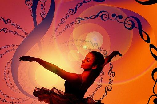 Dance, Dancer, Clef, Music, Vibration, Slightly, Ballet