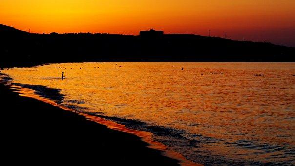 Sunset, Mastiff, Reverse Light, Peace, Nature, Clouds