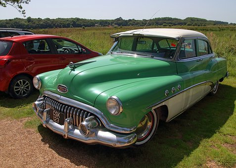 Buick, Auto, Vehicle, Oldtimer, Old, Classic, Chrome