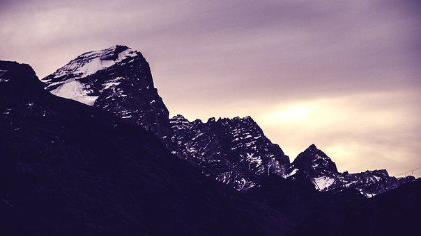 Mountain, Range, Summit, Peak, Acongaguas, The Andes