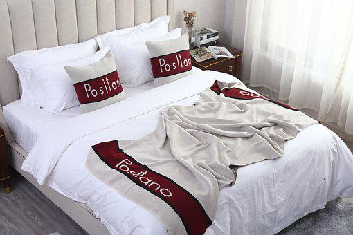 Bedding, Pillowcases, Bed Tail Towel, Four-piece Set