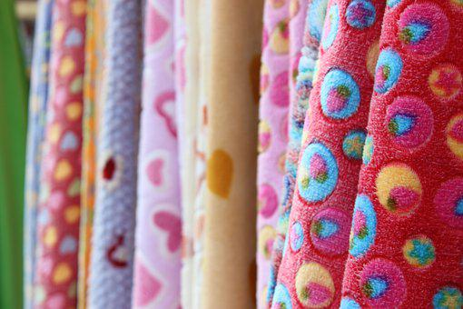 Fabric, Red, Pattern, Texture, Background, Textile