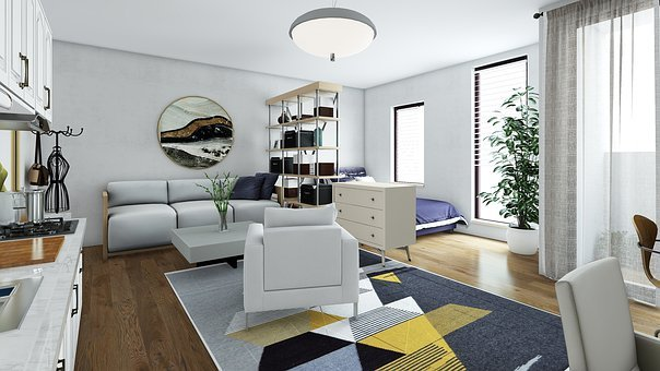 Room, Lighting, The Interior Of The, Be, Sofa