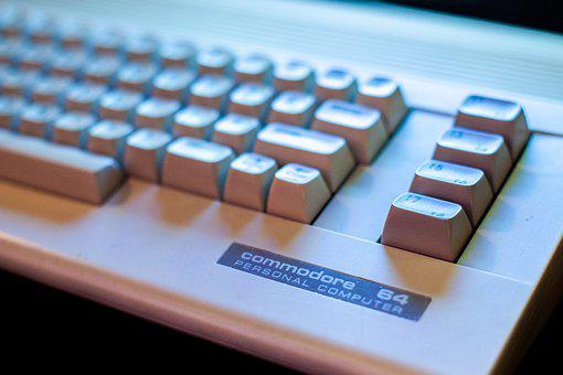C64, Commodore, Computer, Retro, Closeup, Technology