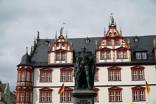 Coburg, Town Home, Albert, Prince, Saxony, Gotha