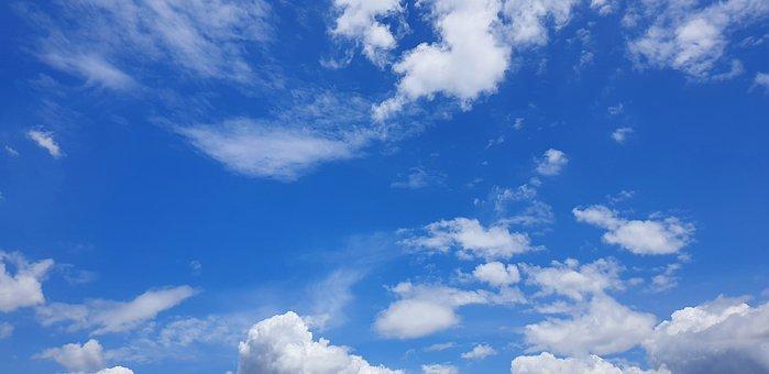 Cloud, Sky, Nature, Weather, Summer, Blue