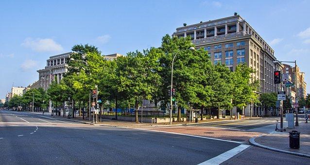 Washington, District Of Columbia, Dc, City, Urban