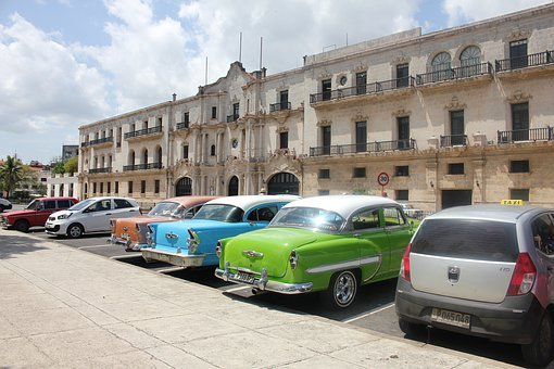 Cuba, Auto, Oldtimer, Havana, Architecture, City