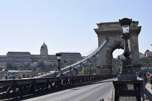 Budapest, Bridge, Hungary, Architecture, River, Europe