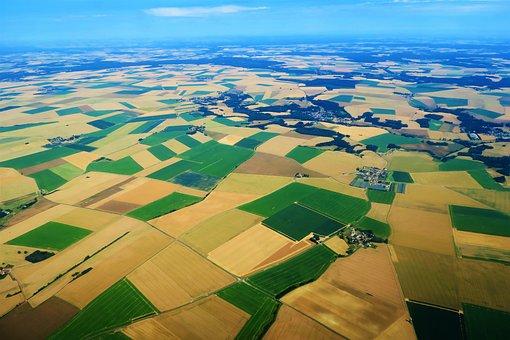 France, Landscape, Nature, Fields, Agriculture, Area