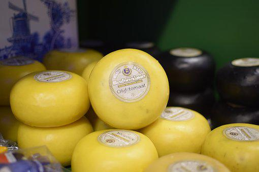 Cheese, Holland, Yellow, Food, Netherlands, Eat