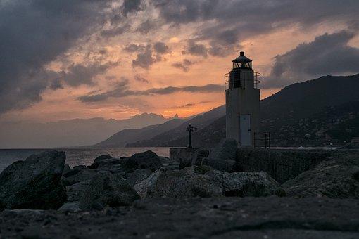 Camogli, Liguria, Genoa, Landscape, Sunset, Tourism