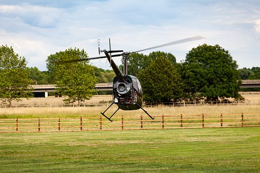 Helicopter Taking Off, Take Off, Helicopter, Flight