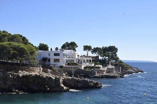 Mallorca, Villa, House, Vacations, Sea, Nobel, Coast