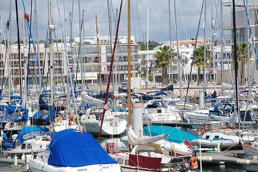 Lagos, Algarve, Portugal, Marina, Port, Sailing Boats