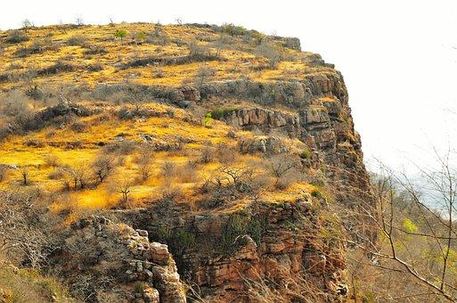 Hillock, Nature, India, Landscape