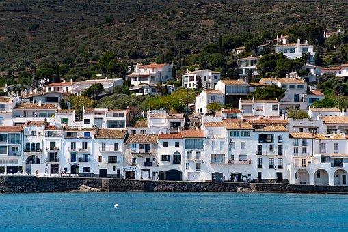 Village, Sea, Mediterranean, Coast, Port, Summer, Sun