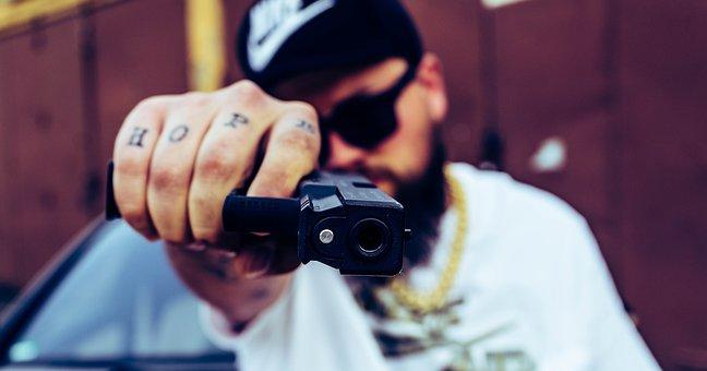 Self-defense, Weapon, Pistol, Risk, Security