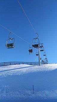 Ski Lift, Cable Car, Winter, Snow, Lift, Skiing, Alpine