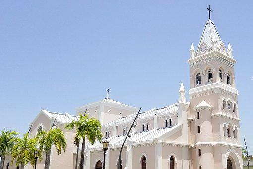Church, Town, Plaza, Architecture, Urban, Buildings