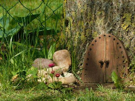 Wichteltür, Elfentür, Zwergentür, Mystical, Forest