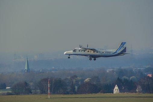 Aircraft, Flyer, Airport, Jet Plane, Landing, Air