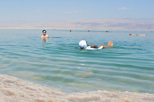 Backward, Adventure, Water, Peace, Happy, Israel, Man