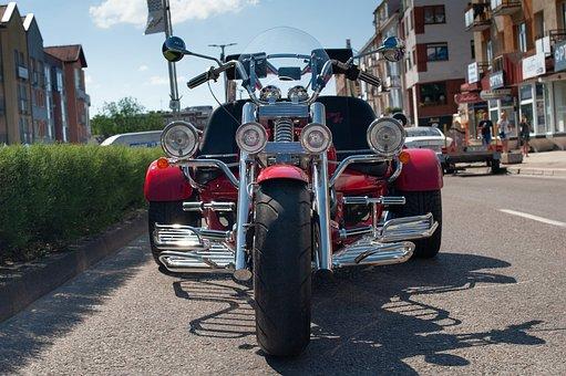 Motorcycle, Chopper, Road, Motorbike, Bike, Vehicle
