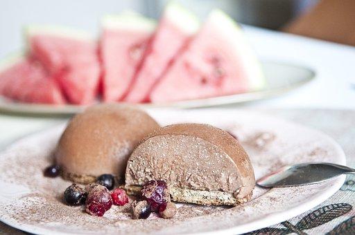 Dessert, Watermelon, Chocolate, Cocoa, Berry, Breakfast