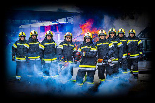 Firefighter, Fireman, Job, Training, Protection, Danger